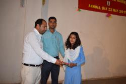A visit by the representative of Bharti Foundation